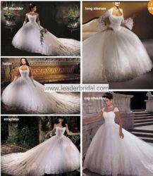 شريط تول ثوب زفافيّ 6 أسلوب يتزوّج [بلّ غون] [ل38]