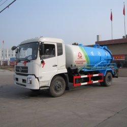 Châssis Dongfeng Euro V 8cbm Évacuation des eaux usées Chariot vide