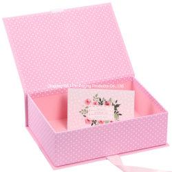 Kartonnen geschenkverpakking Custom Printing for Festival Cadeaudoos met Lint