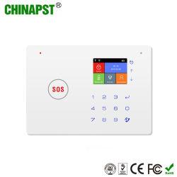 新製品のタッチ画面の無線WiFi GSMのホームセキュリティーアラーム(PST-G66W)