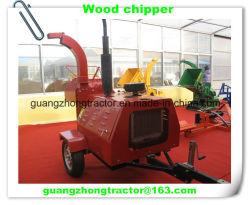 L'auto découpeuse à bois hydraulique de puissance, broyeur de bois Chipper