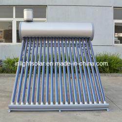 La couleur de l'acier Non-Pressurized intégré chauffe-eau solaire thermique