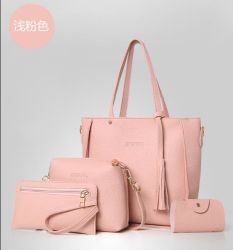 Manier en Elegent Dame Handbag Card Holder Set Zak
