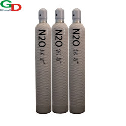 Médico de alto padrão utilizado N2o cilindro de gás de óxido nitroso gás rir