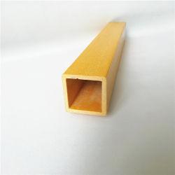 Großer Gefäß-Rohr-Rod-Stab-Profil Crossarm Faser-Glas-Fiberglas verstärkter Plastik des FRP Pultrusion-Profil-GRP geformter quadratischer