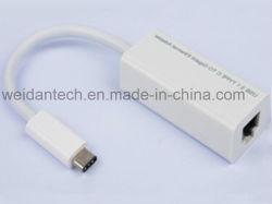 USB TIPO PLOMO-C para el adaptador Ethernet Gigabit con función Pd