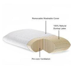 Almohadilla tradicional del caucho de espuma del látex de la dimensión de una variable del pan de Tailandia para dormir