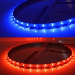 Bluetooh 관제사 15inch 바퀴를 위한 주문 LED 수리용 부품시장 부속 장비를 통해 Smartphone 조종 핸들 빛이 SMD5050에 의하여 LED 점화한다
