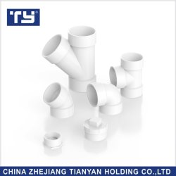 Raccordo a T Dwv in PVC per raccordi Per Tubi di alimentazione Dell'Acqua ASTM2665