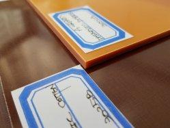 Phenolic лист, Бакелитового листа вставьте хлопка или бумагу размера 1-80мм x 1 м x 2 м (3A6011)