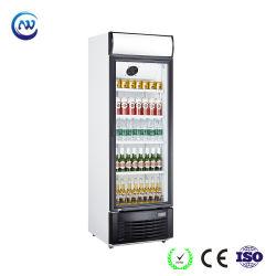 Affichage vertical commerciale porte en verre supermarché Multi-Deck refroidisseur de boissons (LG-228F)