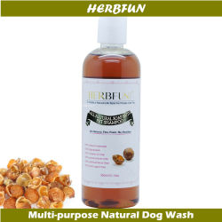 自然なプラントはItchy乾燥肌を取り除くためのペットシャンプー犬の浴室の洗浄猫のシャワーのシャンプーを基づかせていた