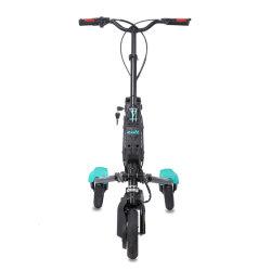 Fabricant en gros unique debout 3 roues scooter électrique découpage tournant