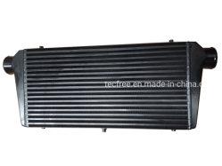 Универсальный черный Бар&пластину 600*300*76мм Turbo охладителя переднего узла крепления воздушного охладителя