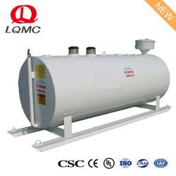 Sopra combustibile diesel al suolo Storagetank