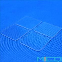De duidelijke Kiezelzuur Gesmolten UVLamp van de Plaat van het Glas van het Kwarts