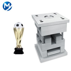Prodotti di plastica dello stampaggio ad iniezione del trofeo di doratura elettrolitica secondo l'illustrazione