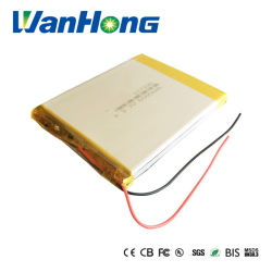 Nachladbares Lithium-Polymer-Plastik Lipo der Lithium-Ionenbatterie-Ladung-117390pl 3.7V 6000mAh nachladbare Batterie für Energien-Bank-Tablette PC Auflage GPS-PSP DVD
