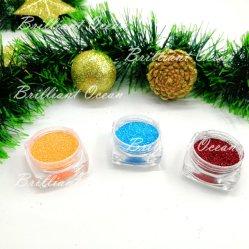 Макияж яркие Блестящие цветные лаки порошок Spangle порошок