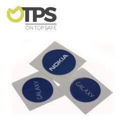 Carte à puce programmable avec anneau en métal ISO14443NFC Tag époxy
