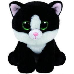 15cm jouet en peluche en peluche Bébé doux Ava Le Chat Noir avec de grands yeux Shinny