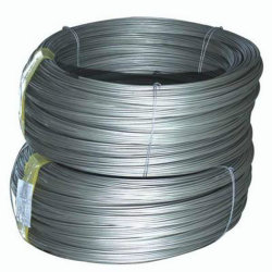 La tige de fil en acier électro-galvanisé avec une haute qualité