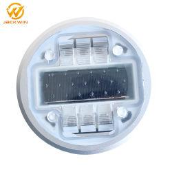 높은 광도 번쩍이는 방수 알루미늄 묘안석 LED 또는 교통 안전을%s 꾸준한 지상 태양 내재되어 있던 도로 장식 못 포장 도로 마커 빛