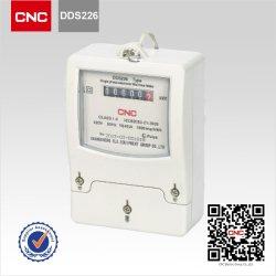 CNC Dds226 de Meter van KWu van de Elektriciteit van de Enige Fase