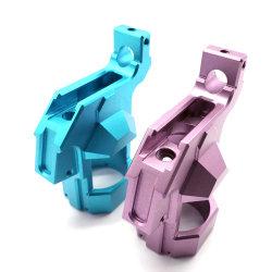 Fibra de carbono de color aluminio de fabricación de piezas personalizadas