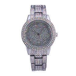 Custoize in lega di logo OEM con orologio da polso multicolore in pietra (JY-MTX15)