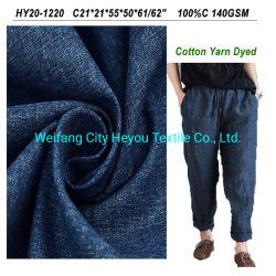 Preço Razoável Heyou fios de algodão tingidos de tecido verificado para materiais de Camisa