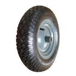 Faible prix Inflatable utilisé pour la brouette Roue en caoutchouc pneumatique (4.00-8)