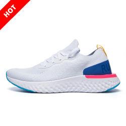 Unisex Casual Rebote suave transpirable en la ejecución de las zapatillas de deporte calzado deportivo con mujeres y hombres