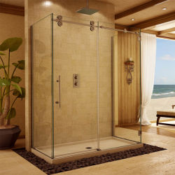 Apartamento/proyecto hotelero de tamaño jumbo de cuarto de baño laminado Paneles de pared de cristal