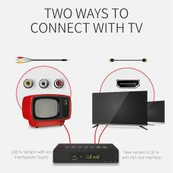 Kleiner H. 265 DVB-T2 DVB-T Fernsehapparat-Empfänger mit Cer RoHS