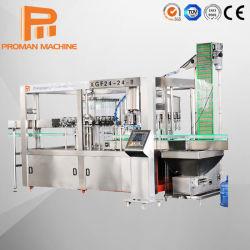 3 in 1 광물 용수 처리 장비 생산 / 순수 물 세척 식물 포장 기계 가격