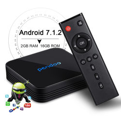 2019 Brand new Pendoo X10 S905W 2G 16g TV Box HDD de 1 To Media Player avec une haute qualité Android 7.1 OS Media Player