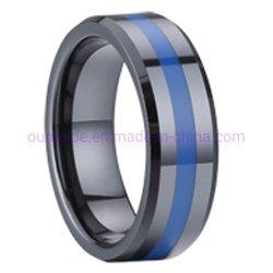 Juwelen van de Ringen van de Juwelen van het Roestvrij staal van de manier de Blauwe