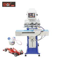 Semi-automático de cuatro colores de alta calidad Shuttle Pad Printer Y160/4s