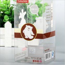 علبة تغليف مخصصة مصنوعة من البلاستيك PVC/الحيوانات الأليفة/PP للرضاعة (حزمة قابلة للطي)