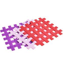 Gitterform Silikonbecher Mat zum Verkauf (YB-LY-CM-04)