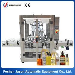 Ligne automatique de la production de jus pur l'eau / huile de cuisson de la CDB / Sauce Miel Lait / / / La pâte de tomate et le plafonnement de l'étiquetage de la machine de remplissage