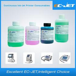 Venta caliente alimentación fábrica Ec-Jet Eco solvente compatible para el blanco/amarillo/negro tinta