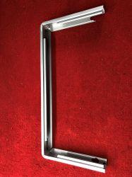 Disipador de calor, con la extrusión de aluminio pulido de flexión con soporte de pantalla LED para exteriores