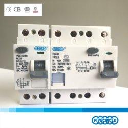 Высокое качество магнитных AC ВВЕДИТЕ КОД RCCB 2p 4 p 16A - 100A (FCL5) Китай прерыватель цепи
