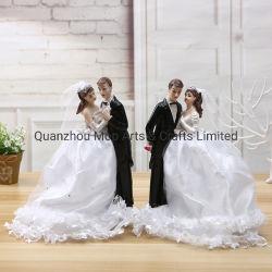 Statue de la résine de Mariage Mariage Polyresin Figure Cadeaux