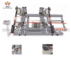 machine à souder Four-Point pour la fabrication de PVC/UPVC Windows Shp4-CNC-30000*1800*120