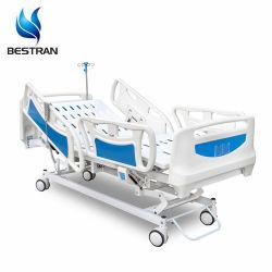 5-functie Elektrische verpleegkundige Verzorgingsapparatuur Medische meubels Kliniek ICU patiënt Ziekenhuisbed