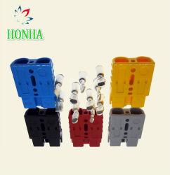 Cable de conector de batería de alta corriente eléctrica de Conector de alimentación CC