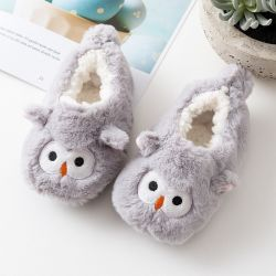 Baby Slippers Animal Cartoon Schoenen Voor Newborn Baby Warme Pluche Sandals Slipper